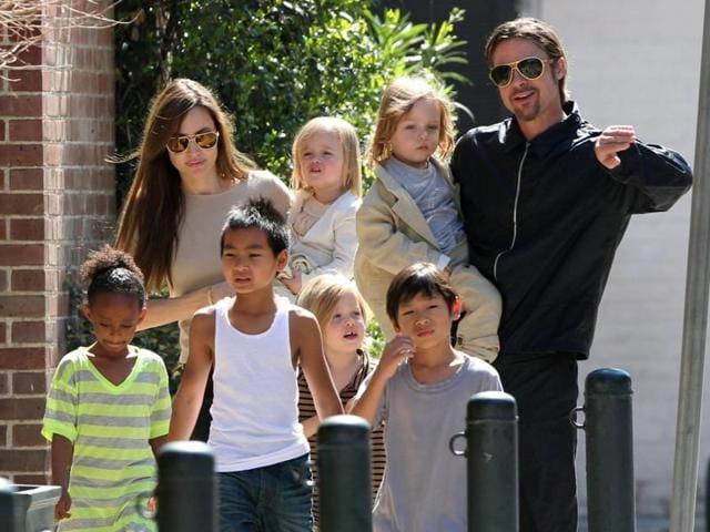 Angelina Jolie,Brad Pitt,Kids