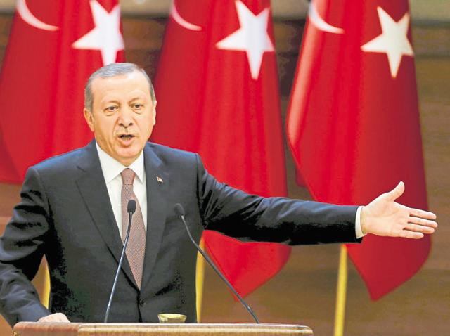 Erdogan is keen to oust Syria's secular regime and impose Turkey's control on the country through a hand-picked Sunni surrogate, but Russia's entry into the anti-IS war has put a spanner in the works.