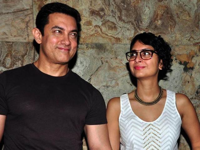 Aamir Khan,Kiran Rao,intolerance debate