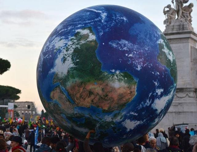 A deal in Paris on climate change would be crucial since the current commitments on greenhouse gas emissions run out in 2020.