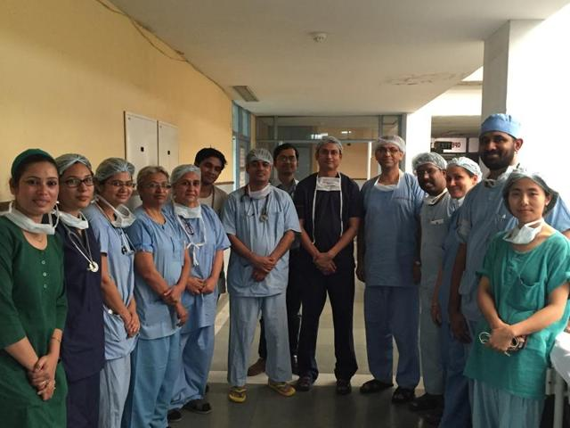 Dr Ravi Kanojia, associate professor, department of paediatric surgery said it was for the first time that such a surgery had been successful at the PGIMER.