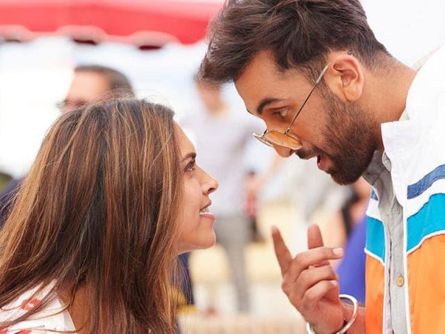 Ranbir Kapoor and Deepika Padukone in a still from Tamasha.