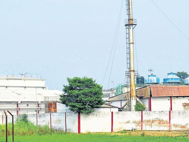 The Coca Cola plant in Varanasi.