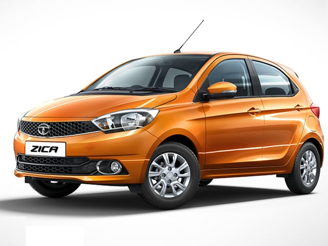 Zica, the latest offering from Tata Motors. The front grille, the wrap-around headlights and the profile lines look different and good.