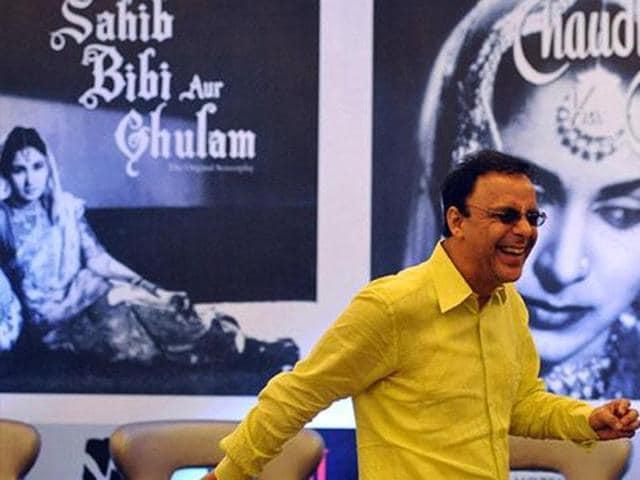 Bollywood filmmaker Vidhu Vinod Chopra at an event in Mumbai.