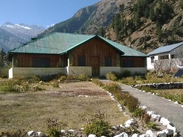 The Wilson House at Harsil in Uttarkashi district.