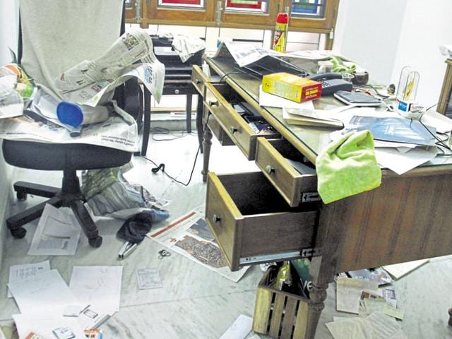In January, an NRI's apartment in a posh New Gurgaon area was ransacked and valuables worth Rs 1.5 crore were stolen.