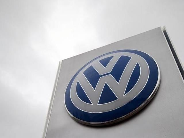 In this file photo, the logo of Volkswagen is displayed on a car. The NGT has sought the centre and Volkswagen's response to a plea seeking a ban on sale and manufacture of its vehicles.