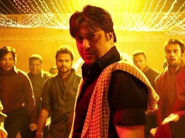Govinda in a still from Kill Dil.