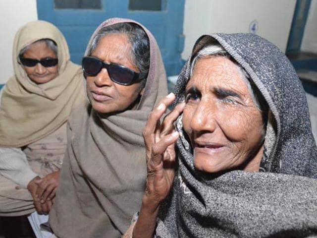Around 15 people were operated upon at Sarvkalyan Eye and Charitable Hospital in Ambala on November 24.