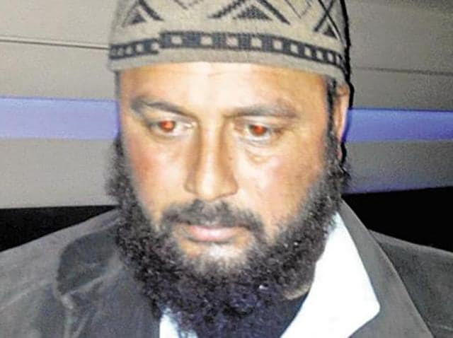 Kaifatullah Khan, the spy handler arrested in connection with ISI.