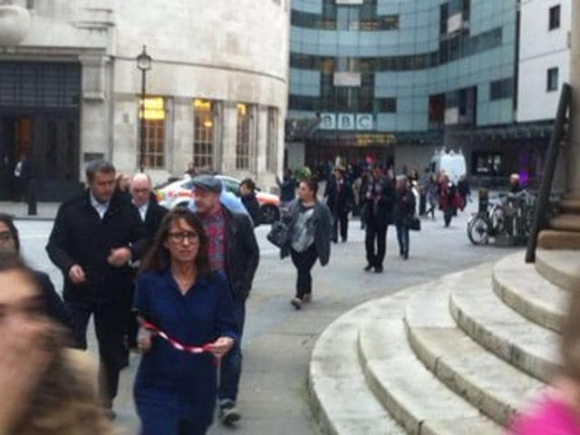 BBC London office evacuated