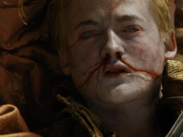 Jack Gleeson playing Joffrey Baratheon in hit tv show Game of Thrones.