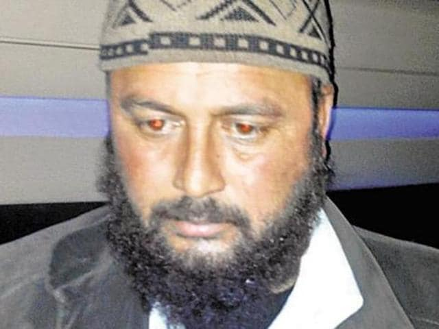 Kafaitullah Khan, the spy handler arrested in connection with ISI. (PTI Photo)