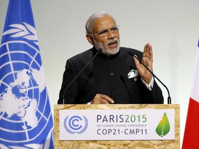 Narendra Modi,Nawaz Sharif,Paris Summit