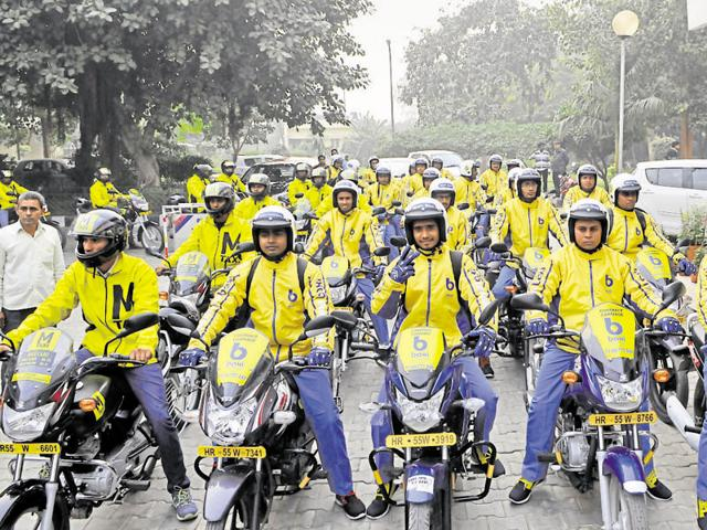 In the first phase, 23 bike taxis are being launched and the fleet will be expanded to 500 in three months.