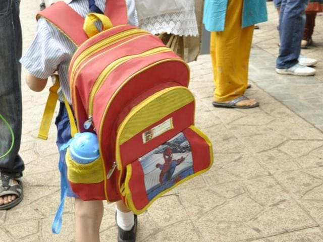School bags,Weight,Maharashtra