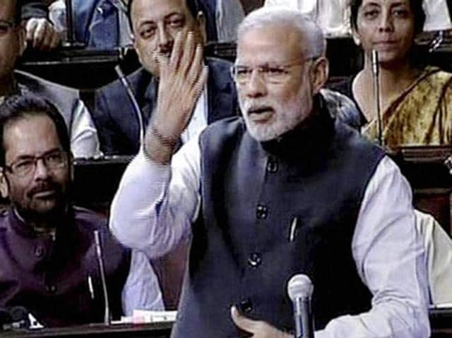 Wrapping up a debate on the 125th birth anniversary of BR Ambedkar, one of the key architects of the Constitution, Modi said the Constitution kept the country united.