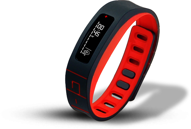 GOQii offers a fitness tracker band, coupled with a personal coach who works with the user's activity and sleep data to provide customised advice on a regular basis.