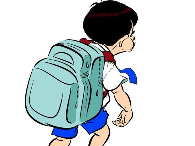 School bag,Heavy school bag,school bag rule