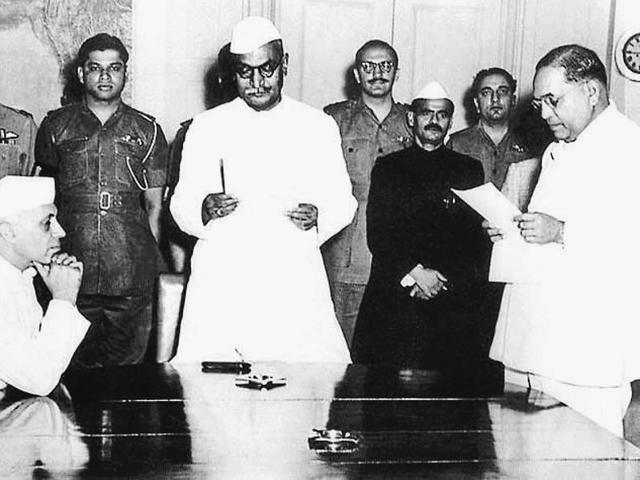 In life, Jawaharlal Nehru towered over all his contemporaries, especially in post-Independence India. BR Ambedkar spearheaded the drafting of the Constitution, was an admirable jurist, refor-mer and intellectual, but like many others of the generation was dwarfed by Nehru's charisma pib