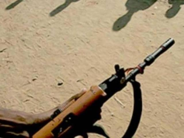 A police jawan was killed on Wednesday and another personnel critically injured in a landmine blast triggered by Maoists in Chhattisgarh's Kanker district