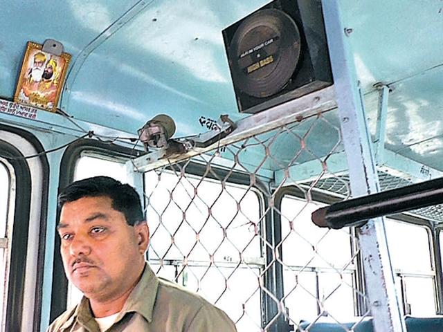"""""""Keeping the bus clean is the duty of the driver and conductor. You will not believe that daily, while cleaning my bus, I ended up with a sack full of garbage, including papers, groundnut shells and dust,"""" Vinod Kumar said."""