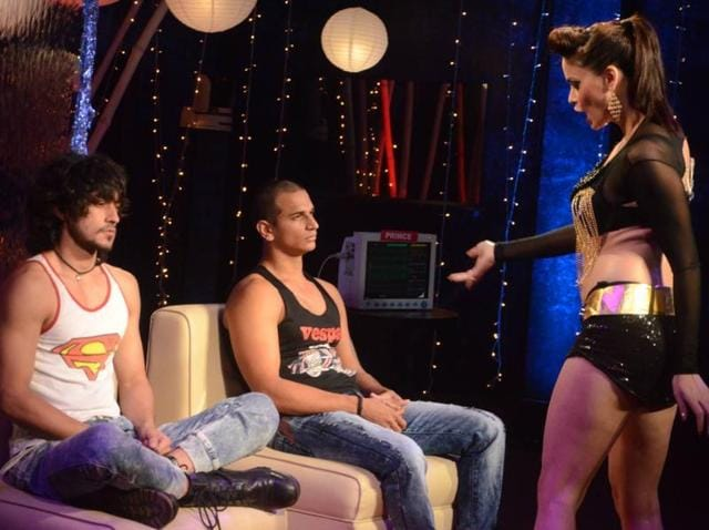 Rishabh and Prince during a task. (Colors)