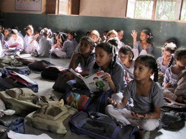 Unsafe classrooms,Government schools,District education department