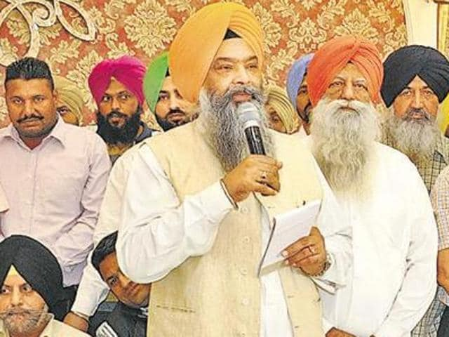 Anandpur Sahib Akali MP Prem Singh Chandumajra  in a file photo.