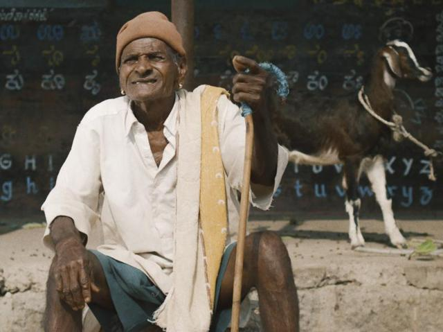 Director Raam Reddy's Thithi is a narrative about three generations, and what happens in their village when the eldest among them, Century Gowda, dies.(Dubai International Film Festival)