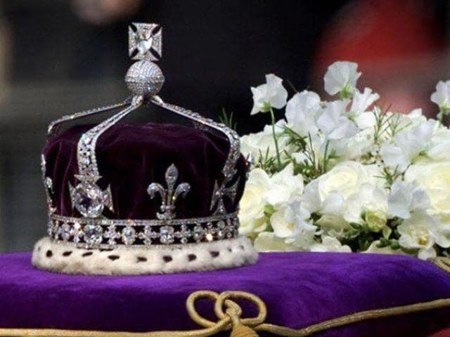 The Kohinoor diamond is now part of the British Monarch's Crown Jewels.