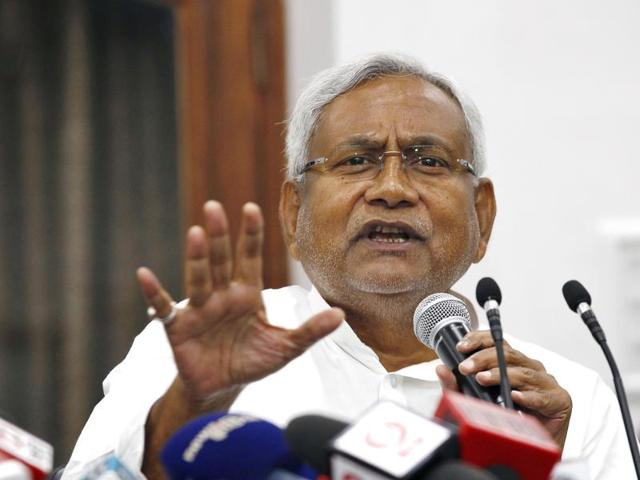Bihar CM Nitish Kumar asked the BJP to clarify its current stand over Ayodhya issue after RSS chief Mohan Bhagwat said he hopes the Ram temple will be constructed during his lifetime.