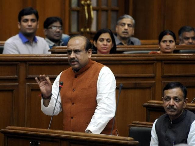 Leader of Opposition Vijender Gupta on Wednesday proposed 10 amendments in the Janlokpal Bill.