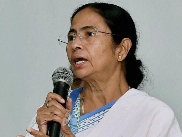West Bengal Chief Minister Mamata Banerjee .