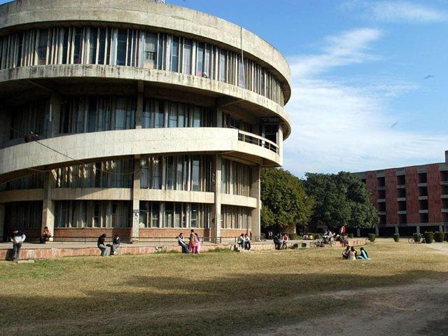 Panjab University  was ranked 39 in  the Times Higher Education university rankings last year .