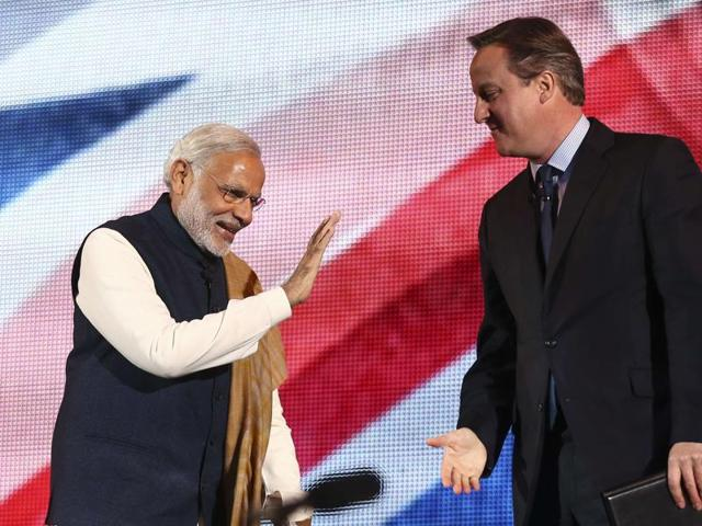 Reports quoting official figures said Britain gave India 279 million pounds during this year.