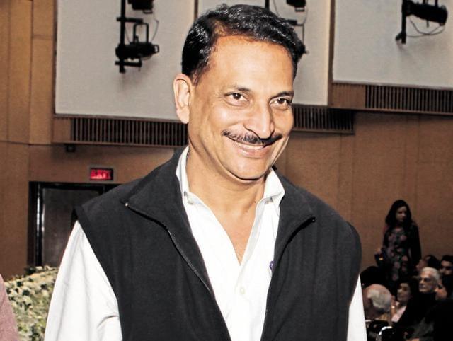 Union skill development minister Rajiv Pratap Rudy.