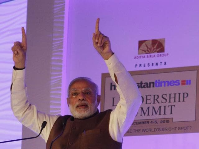 An optimistic PM Narendra Modi asserts at the Hindustan Times Leadership Summit that despite setbacks, India is moving in the right direction