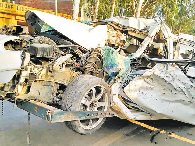 Five people have lost their lives due accidents across tricity.