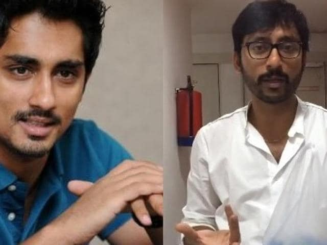 Actor Siddharth and RJ Balaji took the lead in stepping out and help those in need during the Chennai rains.