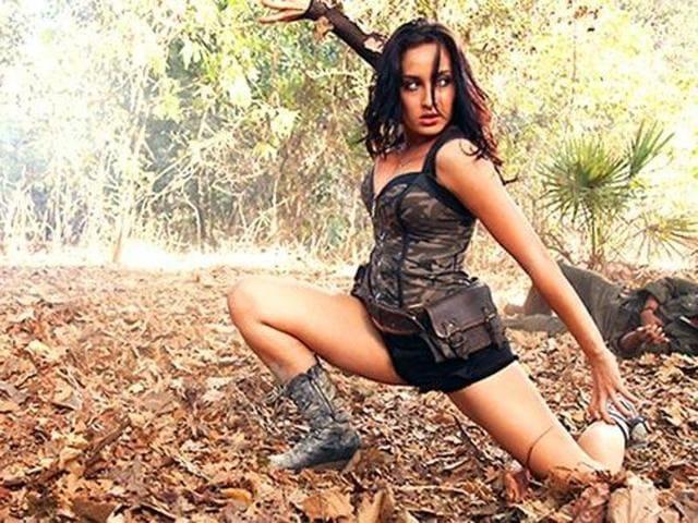 Nora Fatehi was recently seen in Bollywood film Roar. (YouTube)