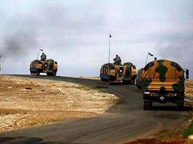 """President Fuad Masum said the presence of Turkish troops near Mosul in northern Iraq  is a """"violation of international norms, laws and Iraq's national sovereignty""""."""