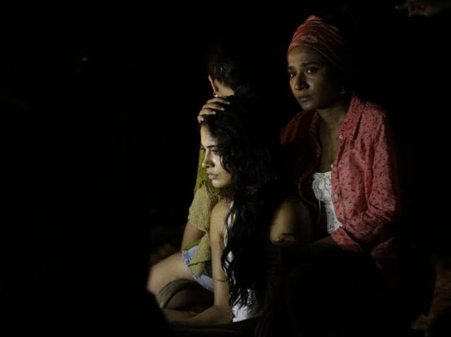 Sarah-Jane Dias and Tannishtha Chatterjee in a still from Angry Indian Goddesses. (YouTube)