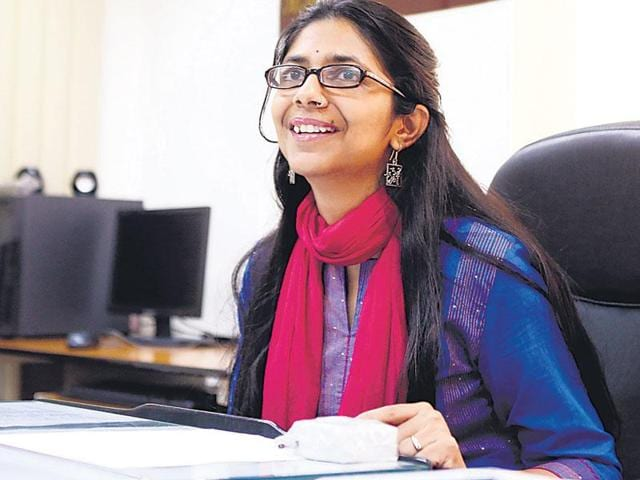 DCW chairperson Swati Maliwal.