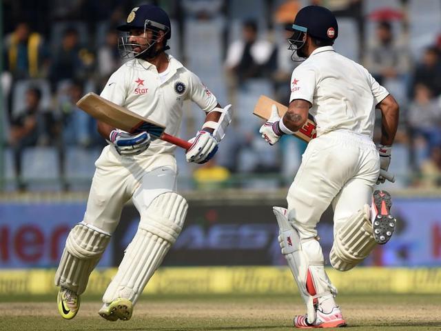 India vs South Africa 2015,Delhi Test,Ajinkya Rahane