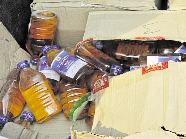 The UP excise department seized 43,066 litres of alcohol worth Rs 2.55 crore in November and 28,253 litres worth Rs 1.37 crore in October.