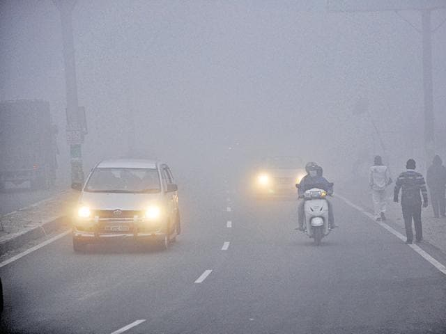 The traffic police has asked commuters to take extra precautions during December and January, when the fog is densest and visibility is low.