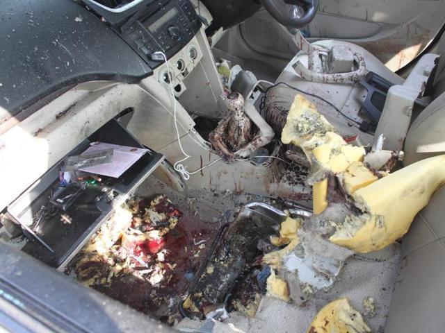 bomb blast,Jalandhar,Maruti Swift Dzire