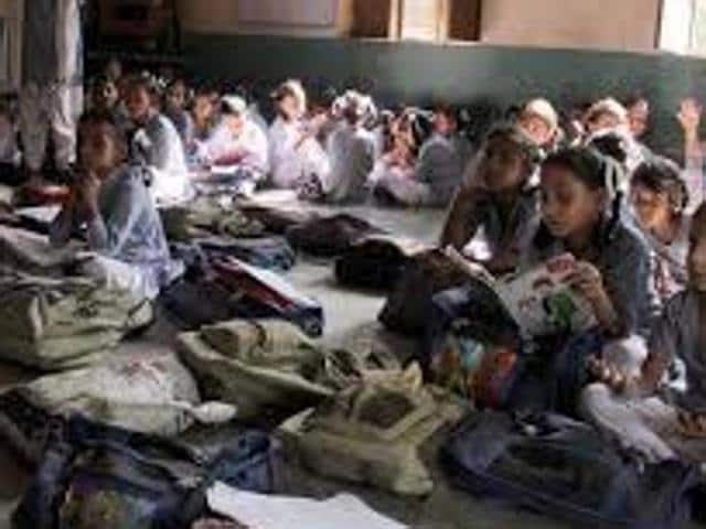 """Sources in the education department said that as the  government was yet to sanction funds to foot the electricity bill, most schools are either forcing students to pay for the bill or are running the schools with """"kundi""""connections."""